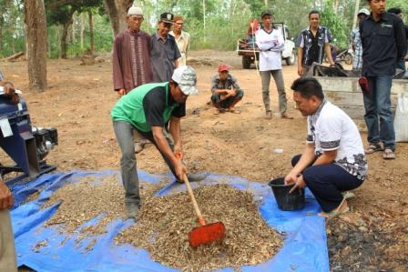 Pemberdayaan masyarkat di KHDTK Riam Kiwa  dengan Sistem  Agroforestry