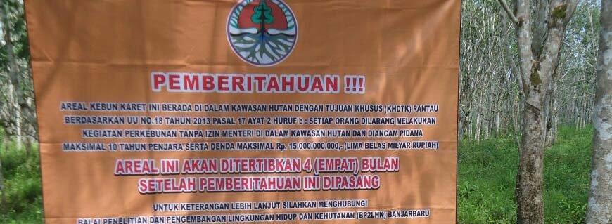 Kemitraan Mengelola Lahan Garapan Masyarakat Solusi atasi Perambahan Hutan di KHDTK  Rantau