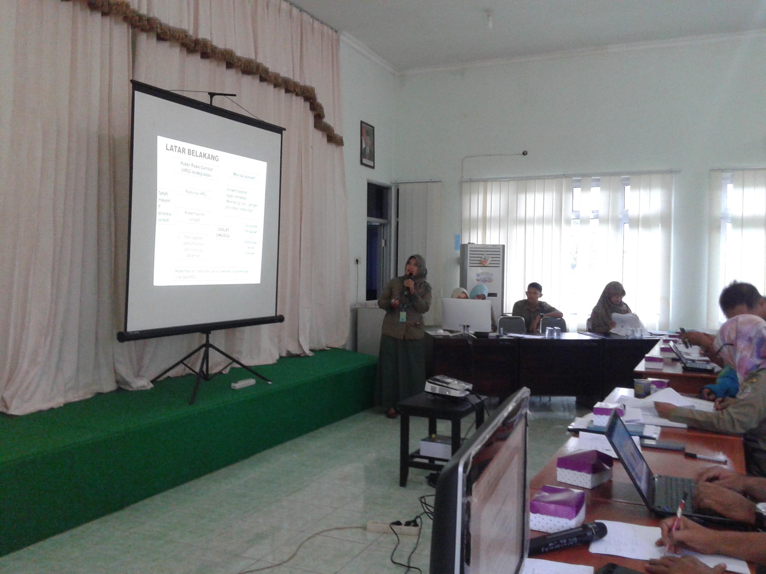 Pembahasan ROPt, ROPg dan ROK 2017 BP2LHK Banjarbaru