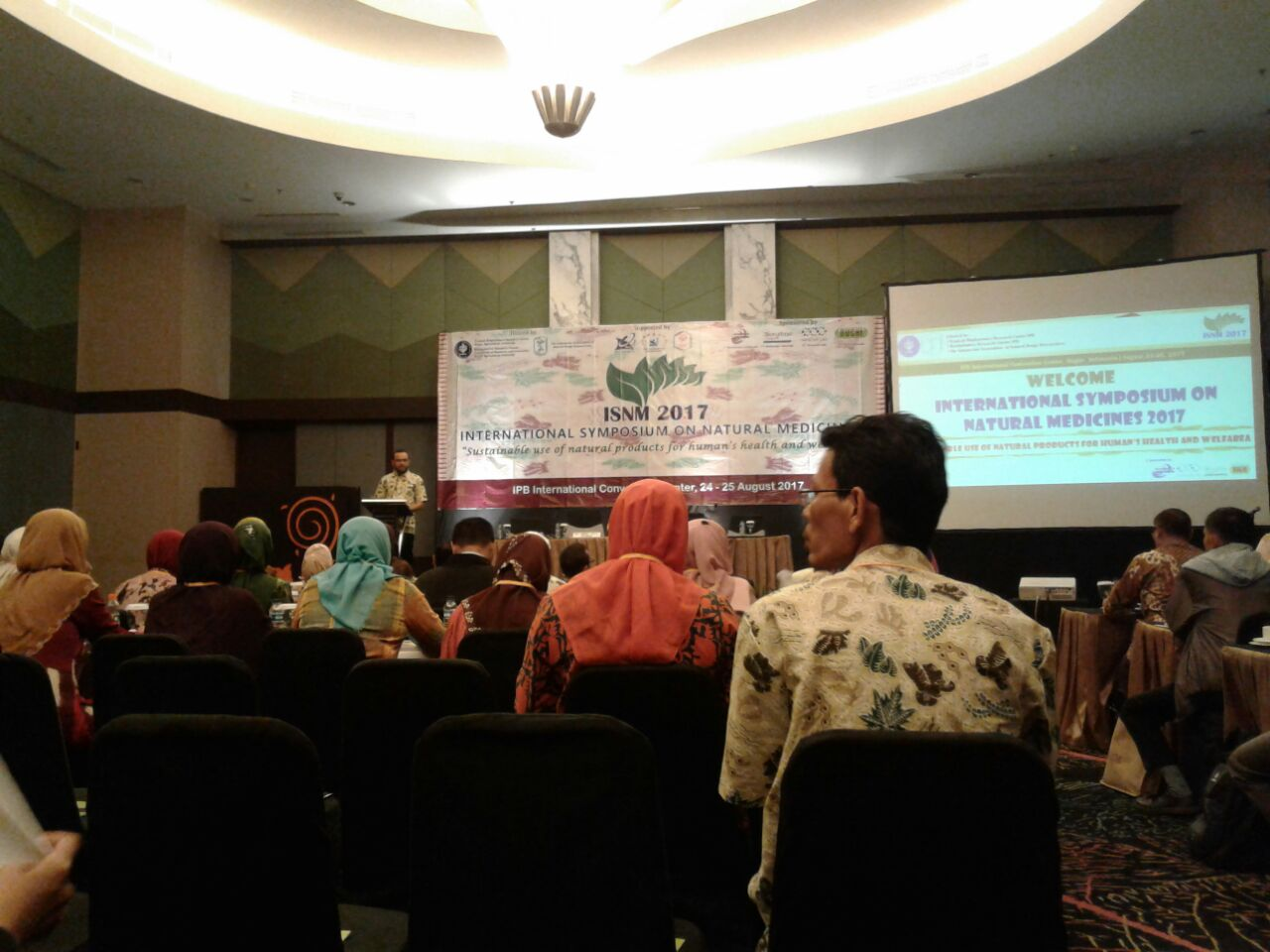 PARTISIPASI BP2LHK BANJARBARU DALAM INTERNATIONAL SYMPOSIUM ON NATURAL  MEDICINES (ISNM) 2017