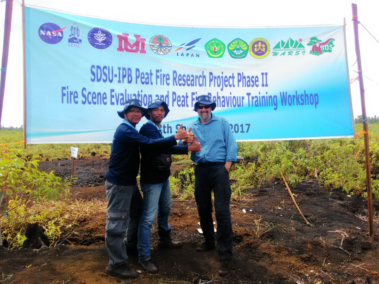 BP2LHK Banjarbaru Ikuti Fire Scene Evaluation And Peat Fire Behaviour Training Workshop