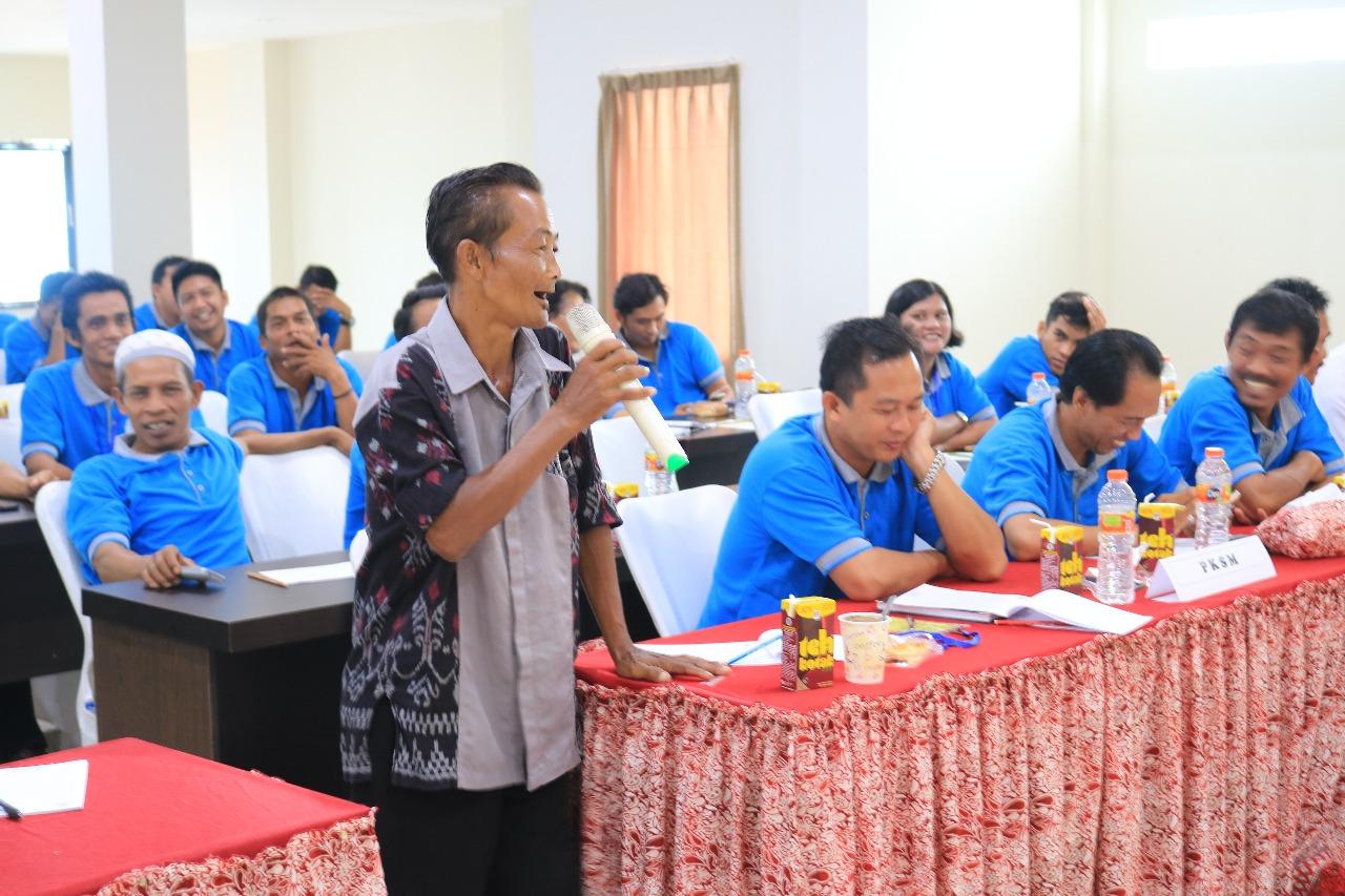 Peneliti BP2LHK Banjarbaru Sharing Pemanfaatan Mikoriza pada Penyuluh Kehutanan Kalsel