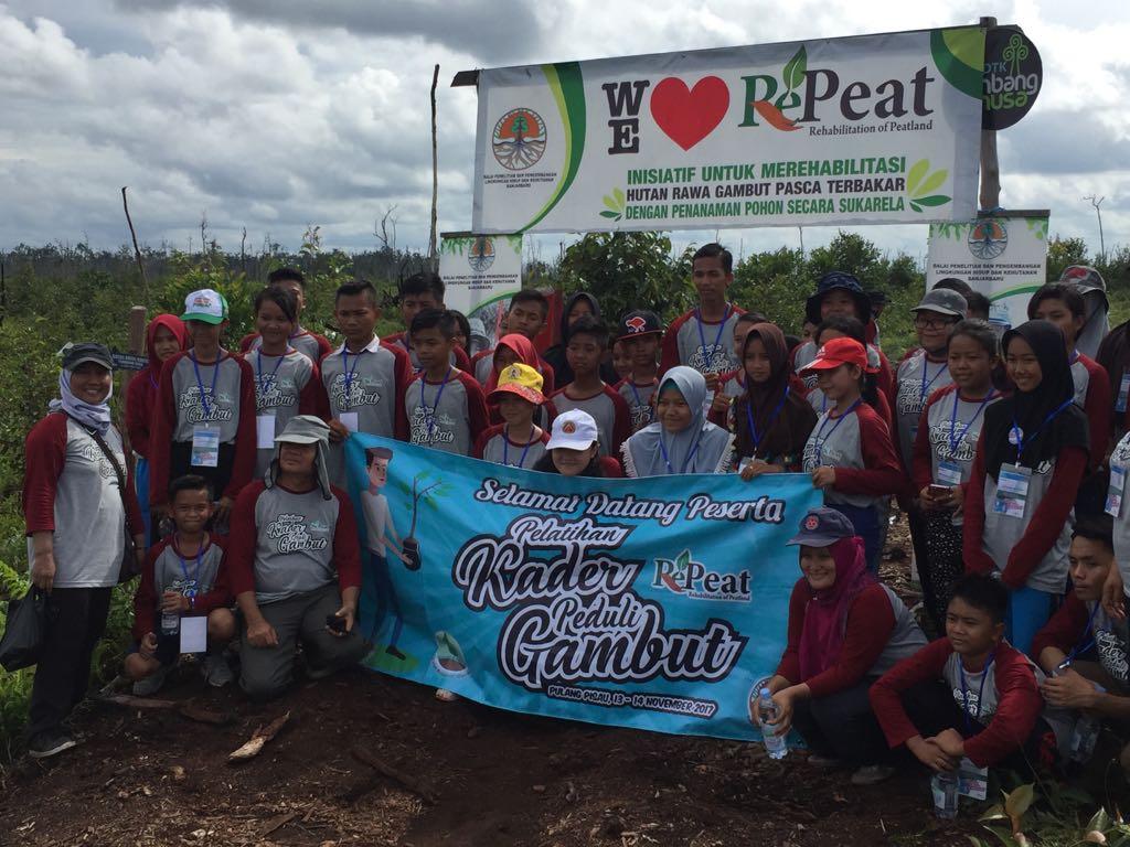 Kenalkan Lingkungan Gambut Pada Generasi Muda  BP2LHK Banjarbaru  Bentuk Kader Peduli Gambut