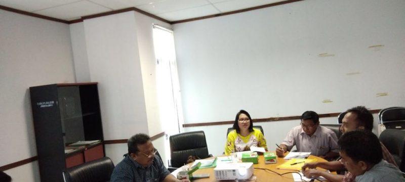 Meneliti kandungan obat Gaharu, peneliti   BP2LHK Banjarbaru lakukan ethical clearance.