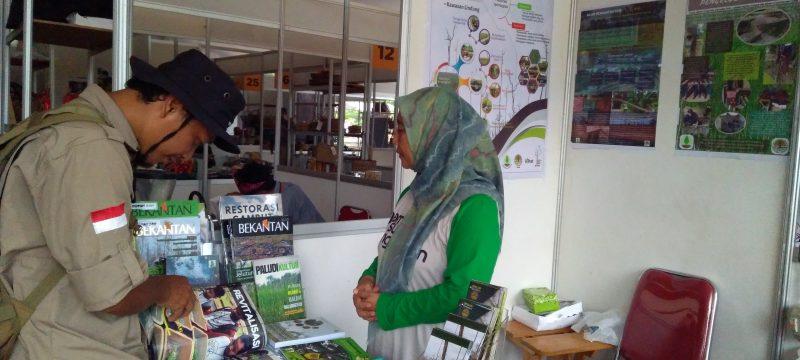 BP2LHK Banjarbaru Turut Serta Ramaikan Jambore Masyarakat Gambut