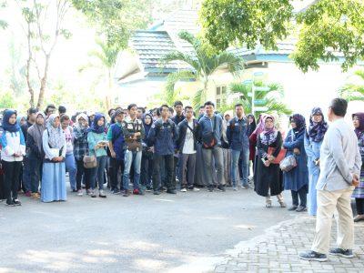 197 Mahasiswa ULM kuliah lapang ke BP2LHK Banjarbaru
