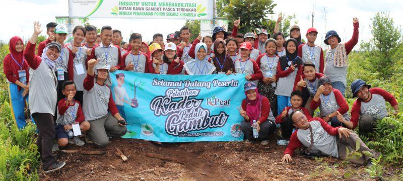 Upaya BP2LHK Banjarbaru Merehabilitasi Lahan Gambut dengan Edukasi