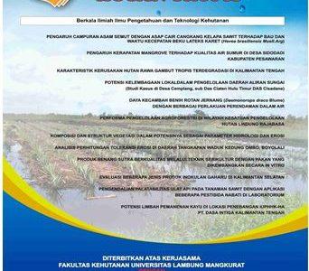 Evaluasi Beberapa Jenis Produk  Inokulan Gaharu Di Kalimantan Selatan