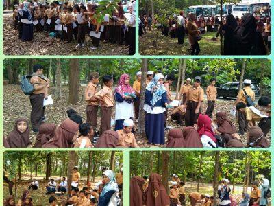 Mengenal Hutan, Tumbuhan dan Satwa  Sejak Dini bersama Balai Litbang LHK Banjarbaru