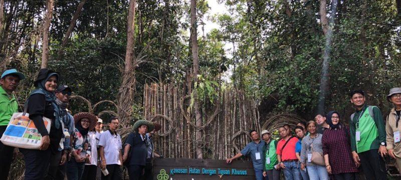 Belajar Gambut , Peserta Cross Country Visit (CCV) dari AfoCO-BIPS Project  Kunjungi  KHDTK Tumbang Nusa