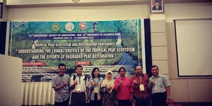 """Profesor Riset BP2LHK Banjarbaru Berpartisipasi dalam Seminar Internasional : """"Tropical Peat Ecosystem and Restoration Conference"""""""