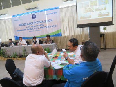 """BP2LHK  Banjarbaru ikut aktif dalam  FGD """"Manajemen Habitat di Bandara Syamsudin Noor-Banjarmasin """""""