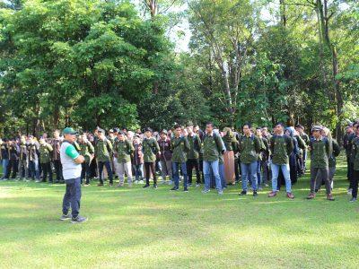 PRAKTIK LAPANGAN, 200 MAHASISWA FAKULTAS KEHUTANAN, ULM  KUNJUNGI  BP2LHK BANJARBARU