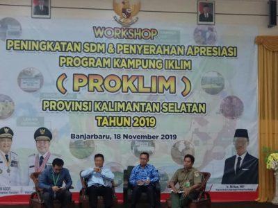 Balai Litbang LHK Banjarbaru Sharing di Acara Apresiasi Proklim Kalsel