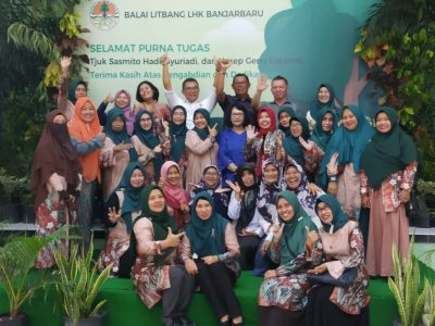 Litbang LHK Banjarbaru Gelar Acara Perpisahan Purna Tugas