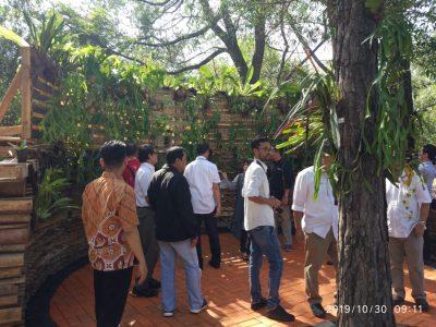 Anggrek Edupark  Lengkapi Kenangan Indah Tjuk Sasmito Hadi di Balai Litbang LHK Banjarbaru